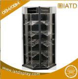 Présentoir acrylique fait sur commande d'étage de 3 rangées pour la mémoire