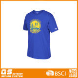 T-shirt sec d'ajustement de basket-ball des sports des hommes