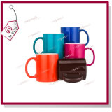 11oz brillant mug sublimation de la magie de changement de couleur