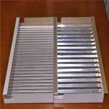 Panneaux en aluminium ondulés pour le revêtement et la toiture de mur