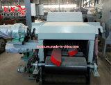 В качестве топлива древесные опилки бумагоделательной машины