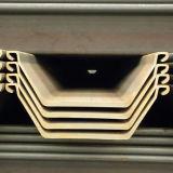 """Mucchio laminato a caldo della lamiera di acciaio del Larsen della scanalatura a """"u"""" con Q235B"""