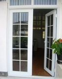 Белый профиль гриль дизайн UPVC профиль двери для входа