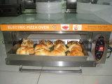 Печь пиццы пожара подноса палубы 1 нержавеющей стали высокого качества электрическая каменная