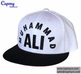 Chapéus feitos sob encomenda do Snapback do logotipo com a fábrica do logotipo do bordado 3D em Guangdong