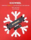 EU 창고 Koowheel Kooboard 전기 스케이트보드 Longboard 42km/H 보장 2 년