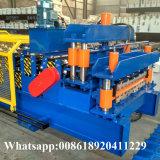 Máquina de aço ondulada do fechamento do grampo e de Ibr de cobertura