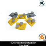 Lavina Double Button Segments Diamond Concrete Grinding Pad