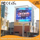 P10mm que hace publicidad de la pantalla de visualización al aire libre a todo color de LED de la ventilación