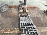 Reja moldeada Fiberglass/FRP cuadrada disponible del acoplamiento de la talla 1220m m X3660mm del panel con resistente a la corrosión de alta resistencia