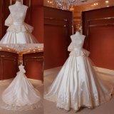 Vestido de casamento Z11126 do cetim do fornecedor de China