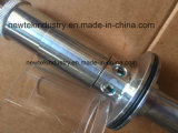 El 1.5in tri válvula de descarga de presión sanitaria de aire de la abrazadera