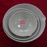 Piatto di ceramica lustrato di evaporazione