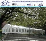 Dossel branco do banquete de casamento do telhado do PVC para o evento