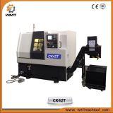 세륨 승인 (CK42T)를 가진 중국 기우는 침대 중국 CNC 도는 선반