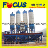Pianta d'ammucchiamento concreta fissa di vendita calda, impianto di miscelazione concreto Hzs90