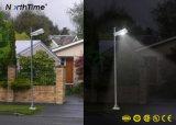 15W неразъемное/интегрировало уличный свет СИД солнечный с 3 летами гарантированности