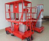 Mobiele ineenschuivende hydraulische het werklift van de aluminiumlegering