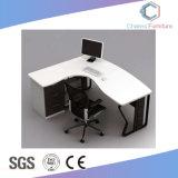 أثاث لازم كلاسيكيّة أبيض علبيّة مكتب طاولة حاسوب مكتب ([كس-مد1897])