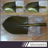 Prix bon marché de haute qualité S518 forgée en acier au carbone pelle enduits en poudre