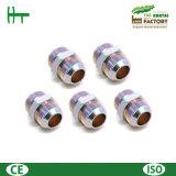 Mâle métrique 24&deg de la Chine 6c 6D ; Adaptateurs de cloison étanche de cône