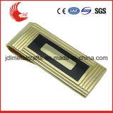 зажим деньг золота плакировкой бронзы размера 50*25mm материальный