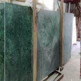 Естественная темнота - зеленый каменный мрамор для плиток, слябов, Countertops