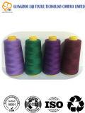 Filato cucirino filato di alta qualità 100% del tessuto di tessile del poliestere del filetto 50s/2