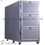 3 Bodies, Morgue Dead Body Freezer를 위한 의학 Mortuary Refrigerator