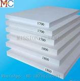 Piatto di ceramica resistente Al2O3 dell'abrasione di elevata purezza