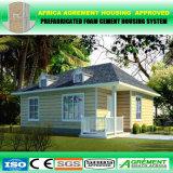 Casa prefabricada incombustible prefabricada de Aseismatic del diseño moderno para el día de fiesta