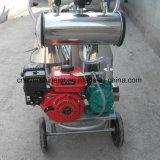 Двойной вакуумный насос машинного доения коровы Milker с бензиновым двигателем