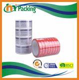 테이프를 인쇄하는 명확한 접착성 패킹 BOPP