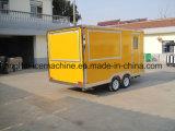 2018低価格の販売のための熱い販売の移動式食糧トラックかファースト・フードのトラック