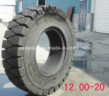 Pneumatico del solido della fabbrica 7.60-16 del pneumatico del carrello elevatore dalla fabbrica cinese