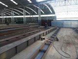 Il gruppo di lavoro prefabbricato della costruzione d'acciaio chiara/lungamente misura la struttura d'acciaio Warehouse/Go giù