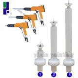 Injetor e extensões de pulverizador manual do pó