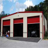 Garagem industrial do carro da construção de aço da fábrica