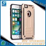 iPhone 8 het Militaire Harde Mobiele Geval van de Telefoon Rode Kleur