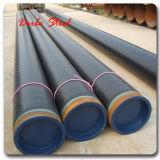 JIS G3454 Stpg370e laminados a quente de tubos de aço carbono sem costura