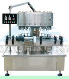 Horizontale halbautomatische kleinräumige flüssige Füllmaschine für Joghurt und Milchshake