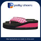 女性のための高品質のエヴァのハイヒールの靴