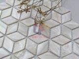 斜方形の形3Dの一見の真珠色のシェルのモザイク(CFP122)