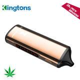 Diseño único del vaporizador seco de la hierba de la ventana del negro de Vapeon del E-Cig de Kingtons