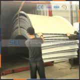 Projeto novo silo fácil aparafusado 300 toneladas do cimento do carregamento do pneumático
