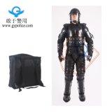 Polizei-Antiaufstand-volle Schutzkleidung-Klage