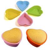 Горячая продажа Bakeware силиконового герметика Heart-Shape торт пресс-форма для выпечки
