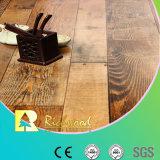 Commercial 12.3mm E1 HDF Chêne gaufré AC3 V-plancher laminé rainuré