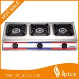 3 가열기 스테인리스 710mm 길이 철 Gloden 모자 가스 레인지 또는 가스 스토브 (JP-GC303)