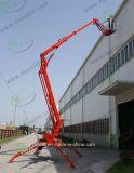 Venta caliente remolcado el acceso de la plataforma de elevación hidráulica